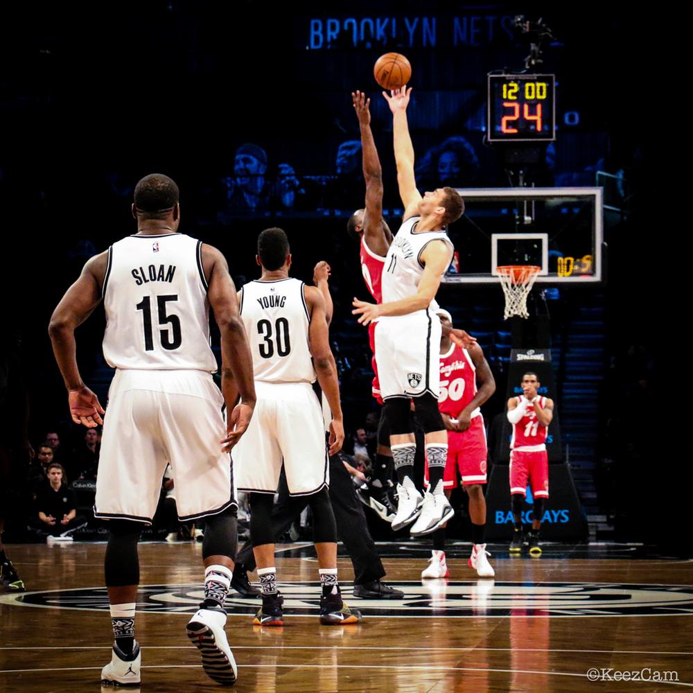 Memphis Grizzlies vs. Brooklyn Nets tipoff