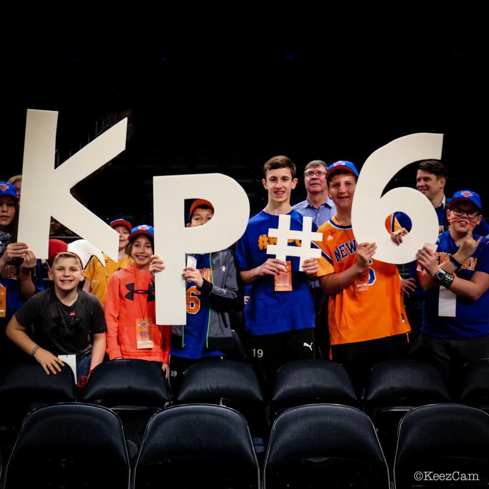 Kristaps Porzingis fans