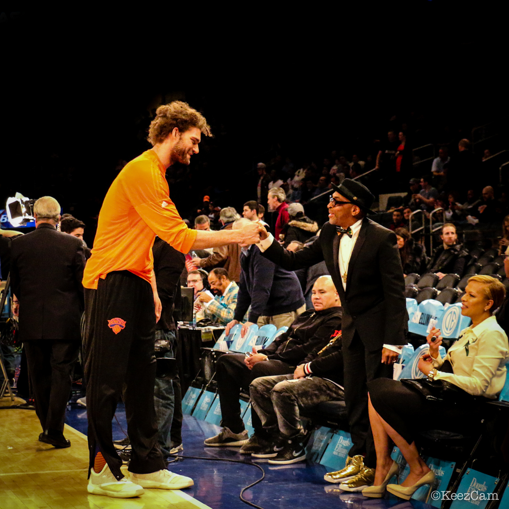 Robin Lopez & Spike Lee