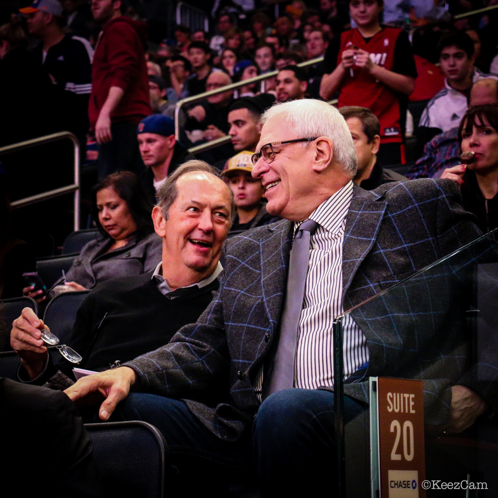 Bill Bradley & Phil Jackson