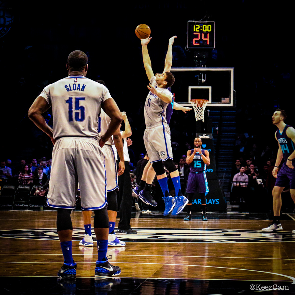 Charlotte Hornets vs. Brooklyn Nets Tip-Off