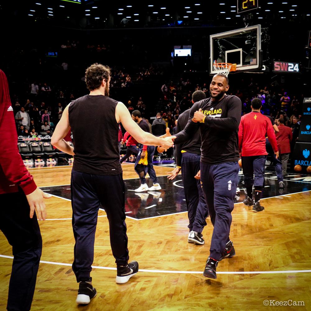 Kevin Love & LeBron James