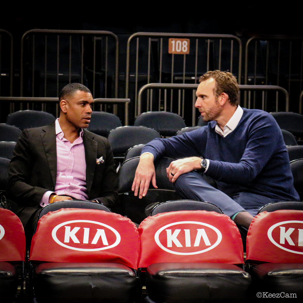 Allan Houston & Sean Marks