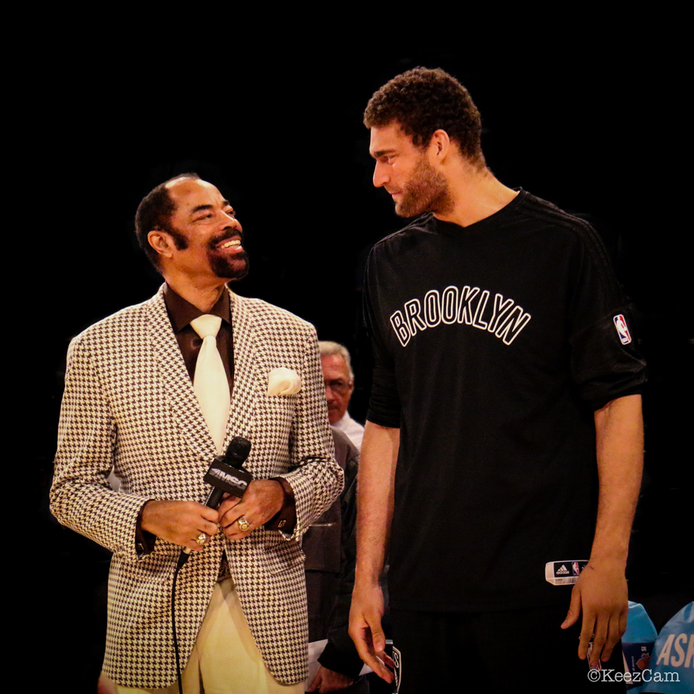 Clyde Frazier & Brook Lopez