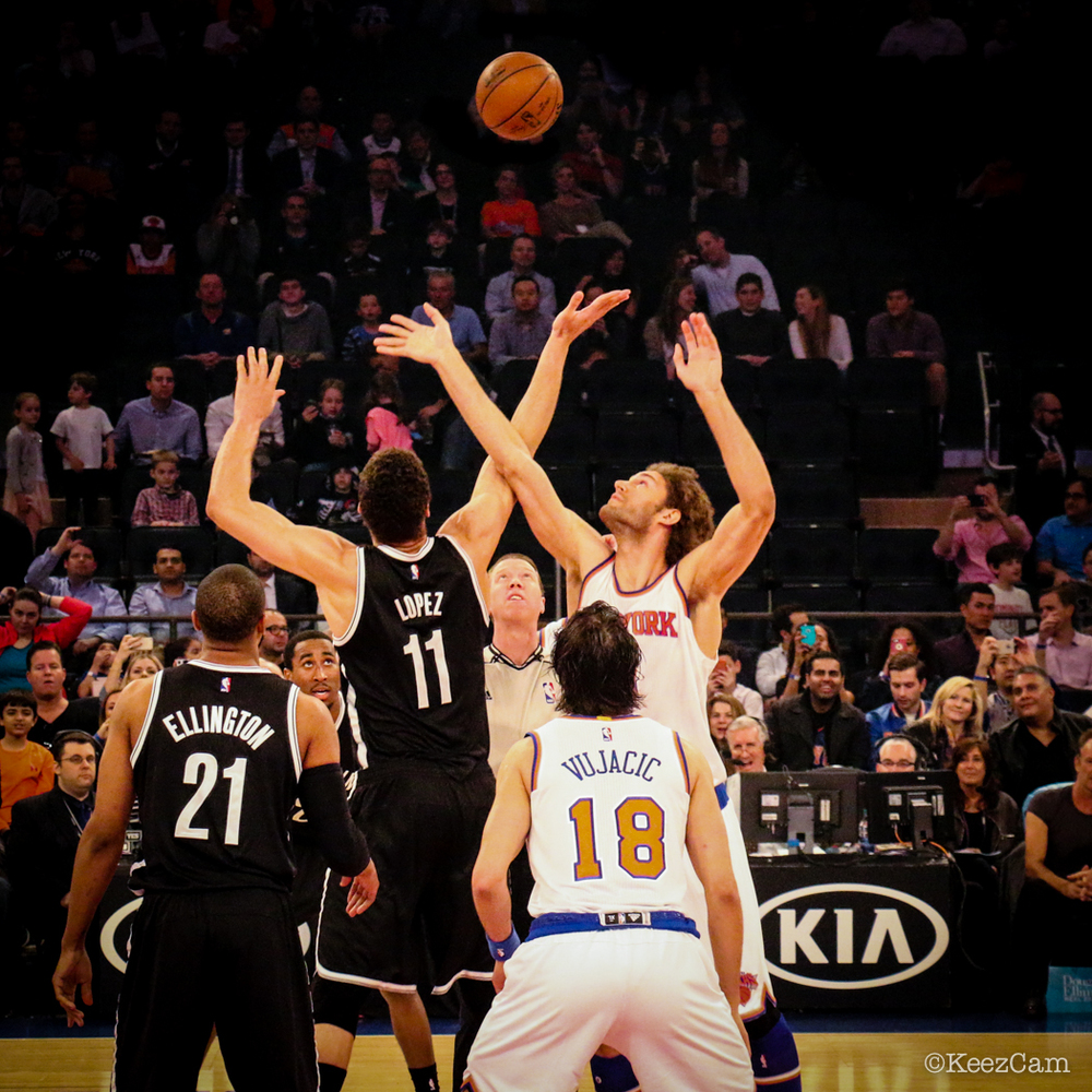 Brooklyn Nets vs. New York Knicks Tip-Off