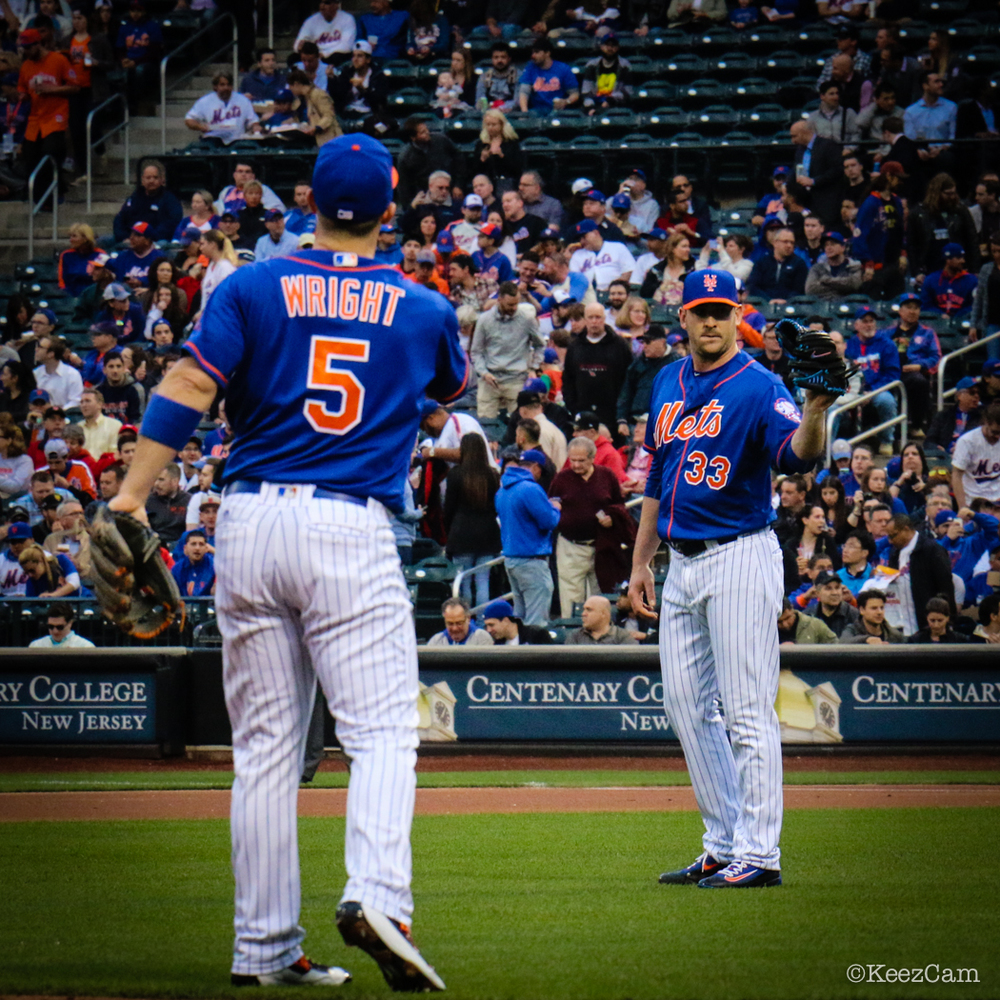 David Wright & Matt Harvey