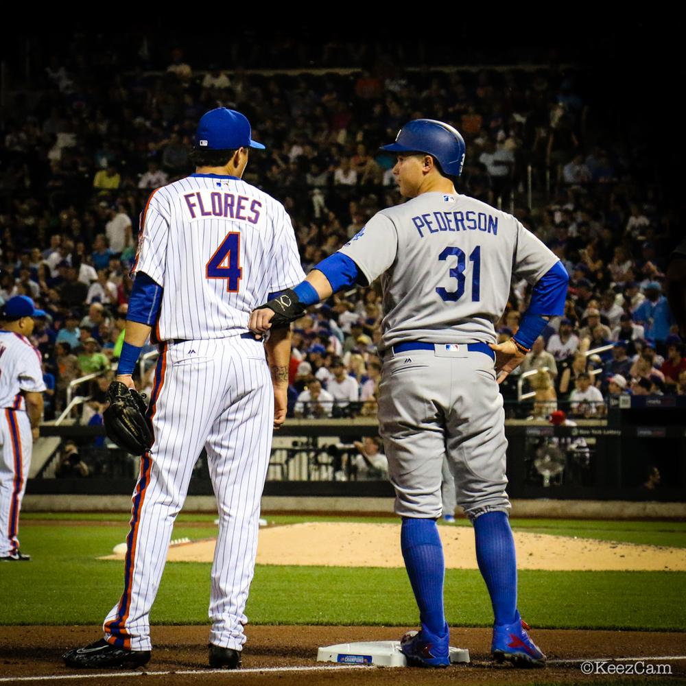 Wilmer Flores & Joc Pederson