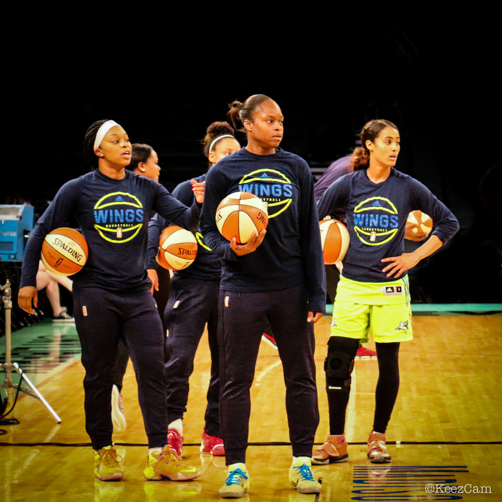 WNBA Dallas Wings vs. New York Liberty — Keez On Sports