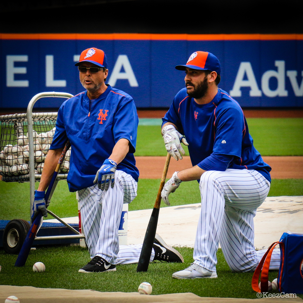 Tim Teufel & Matt Harvey