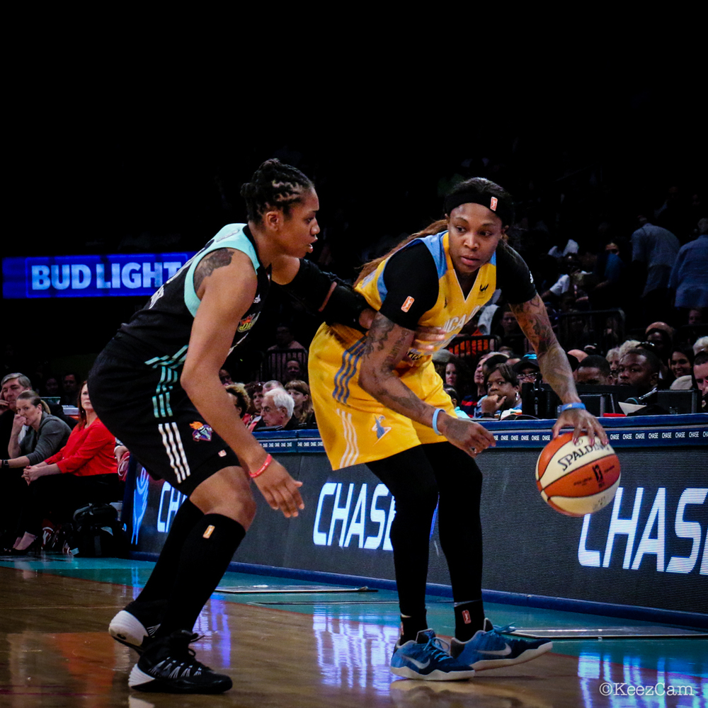 Tanisha Wright & Cappie Pondexter