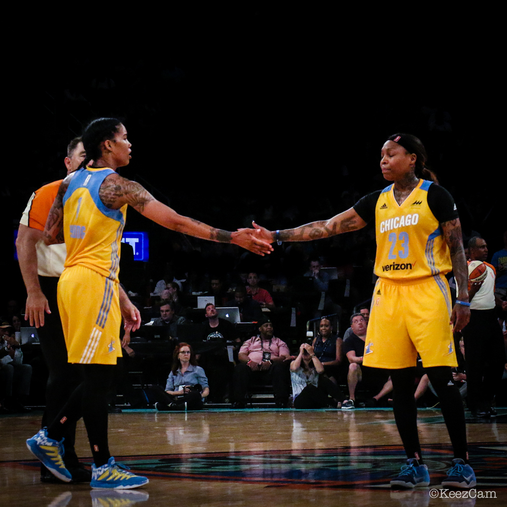 Tamera Young & Cappie Pondexter