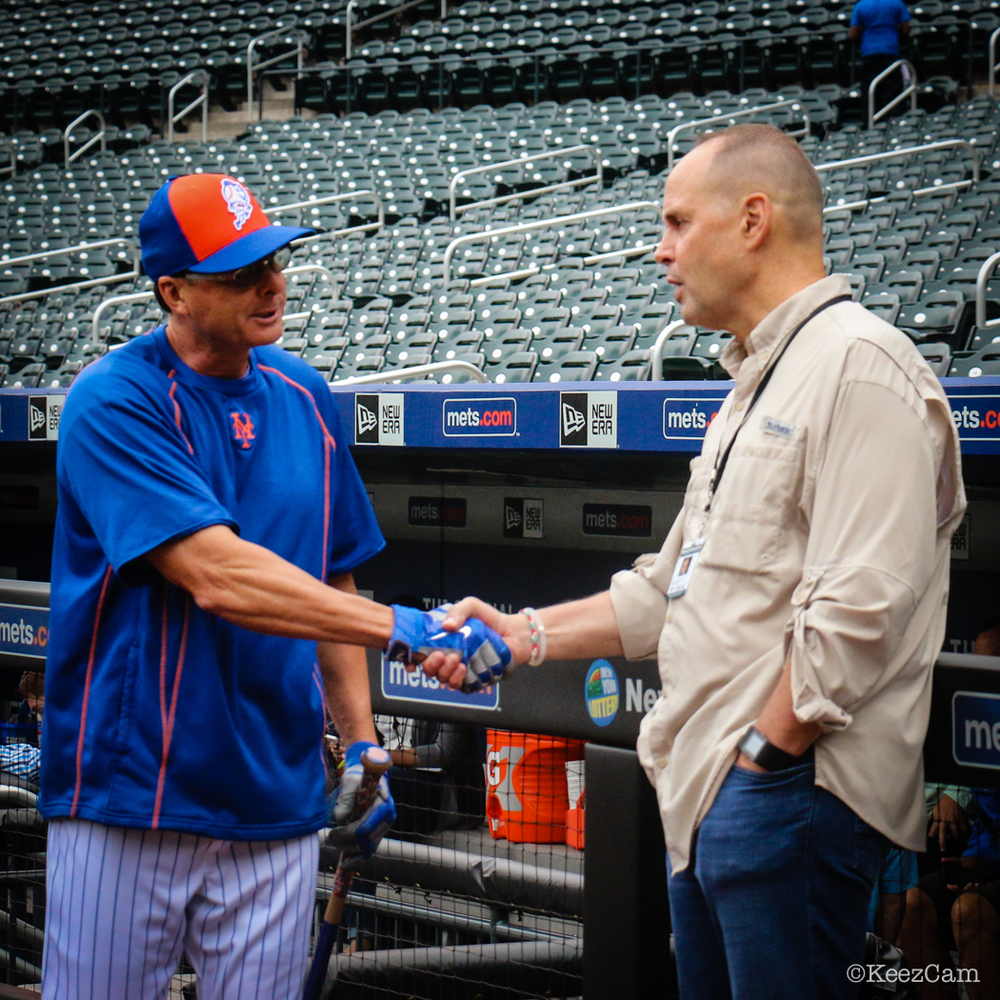 Tim Teufel & Ernie Johnson