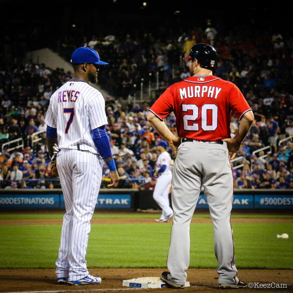 Jose Reyes & Daniel Murphy