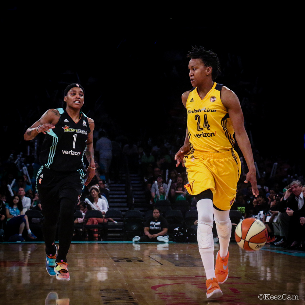Shavonte Zellous & Tamika Catchings