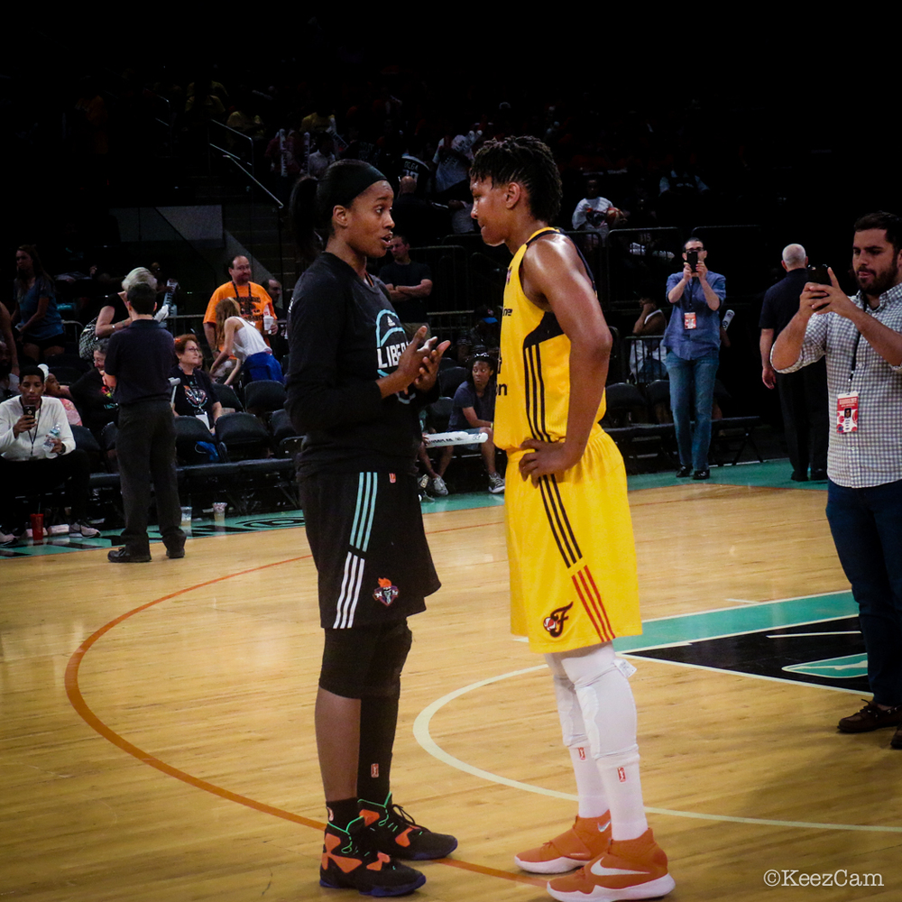 Swin Cash & Tamika Catchings