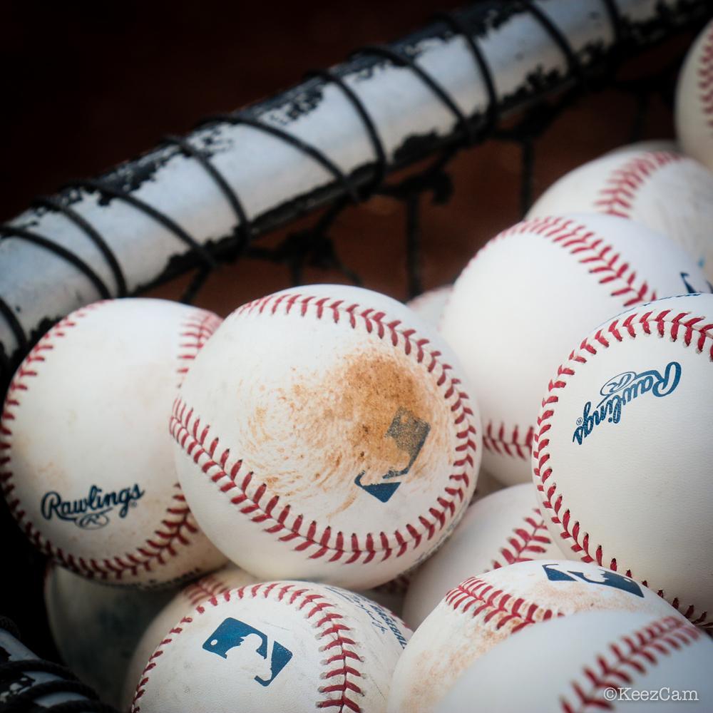 Batting practice baseballs