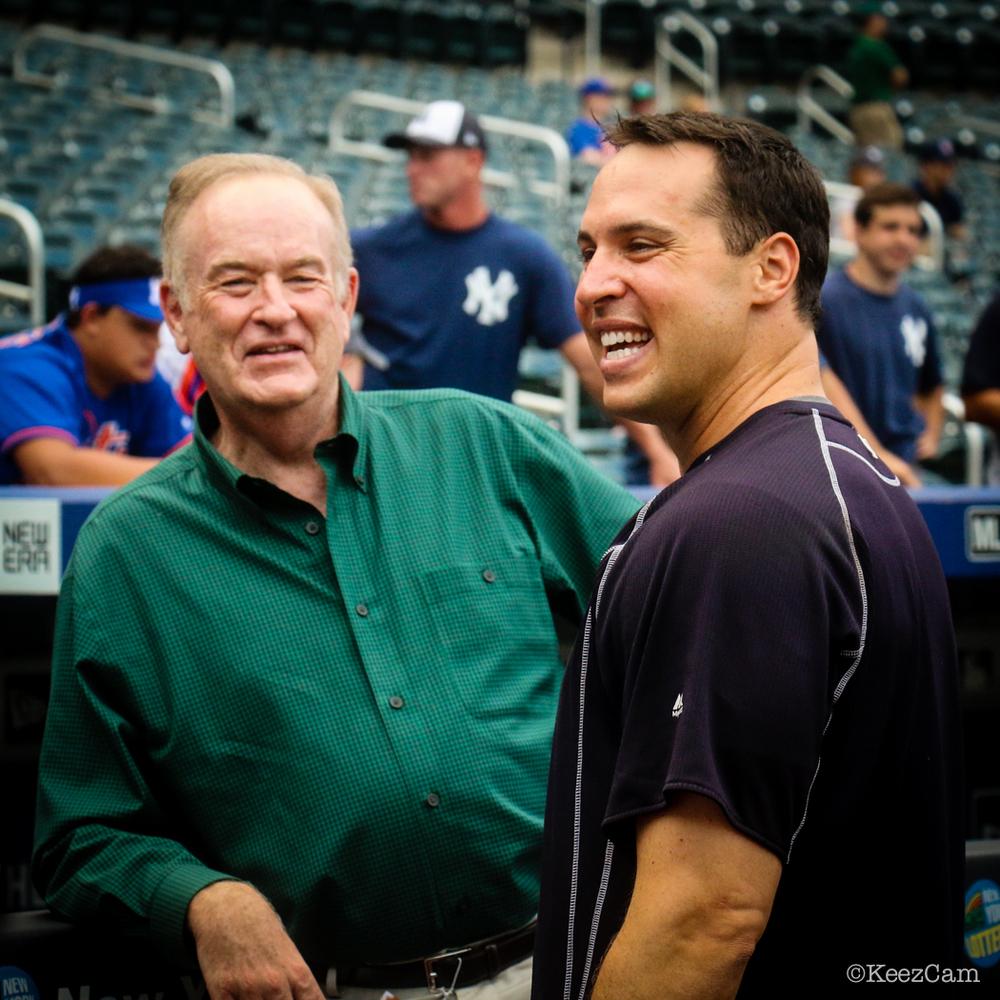 Bill O'Reilly & Mark Teixeira
