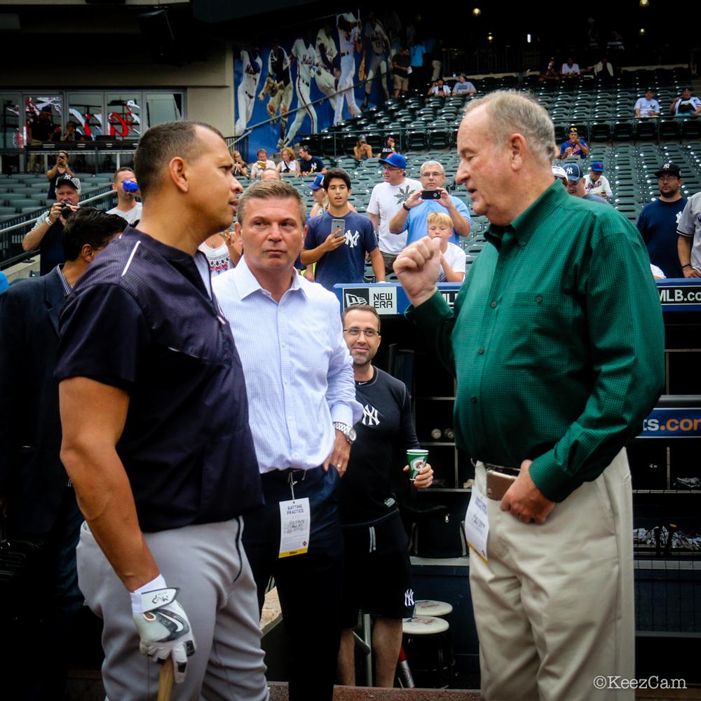 Alex Rodriguez & Bill O'Reilly