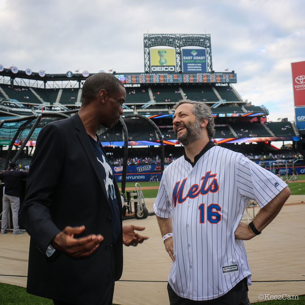 Dwight Gooden & Judd Apatow