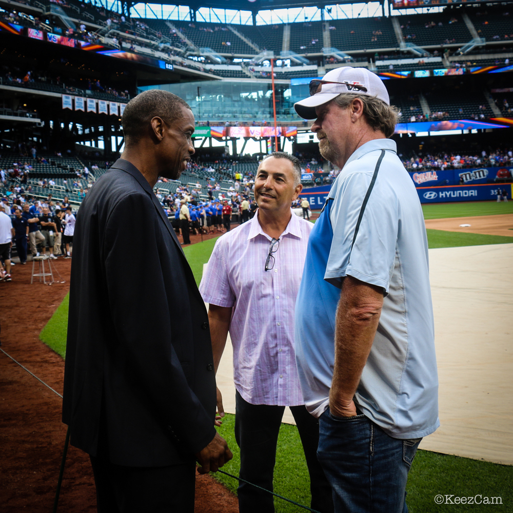 Dwight Gooden, John Franco & Rick Sutcliffe