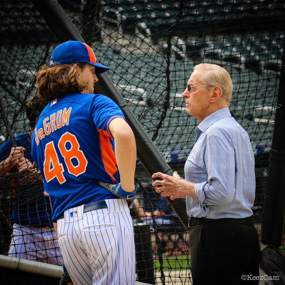 Jacob deGrom & Fred Wilpon