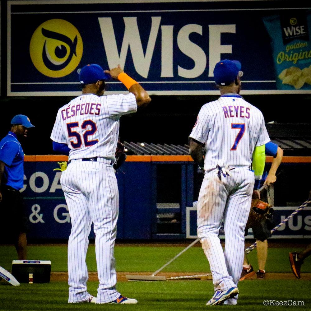 Yoenis Cespedes & Jose Reyes