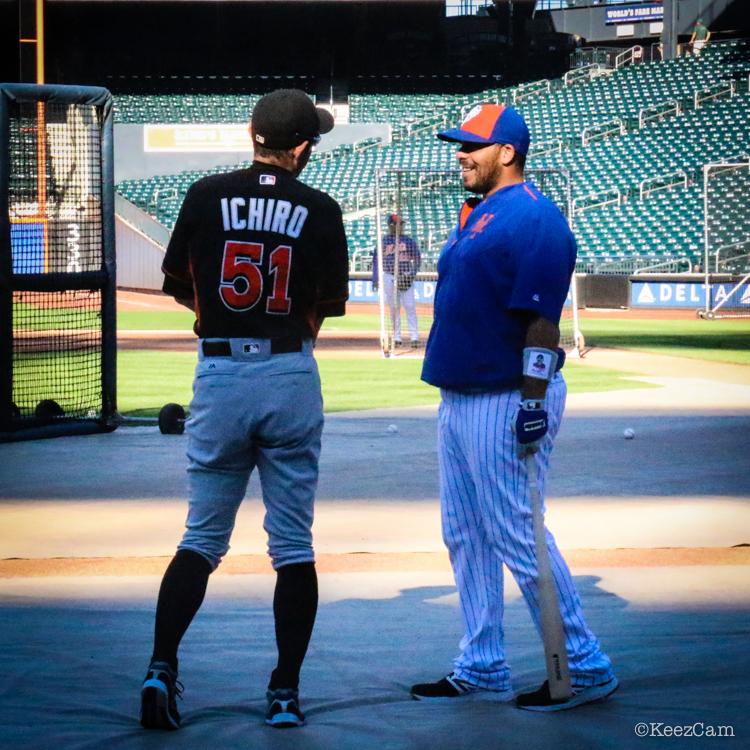 Ichiro & Rene Rivera