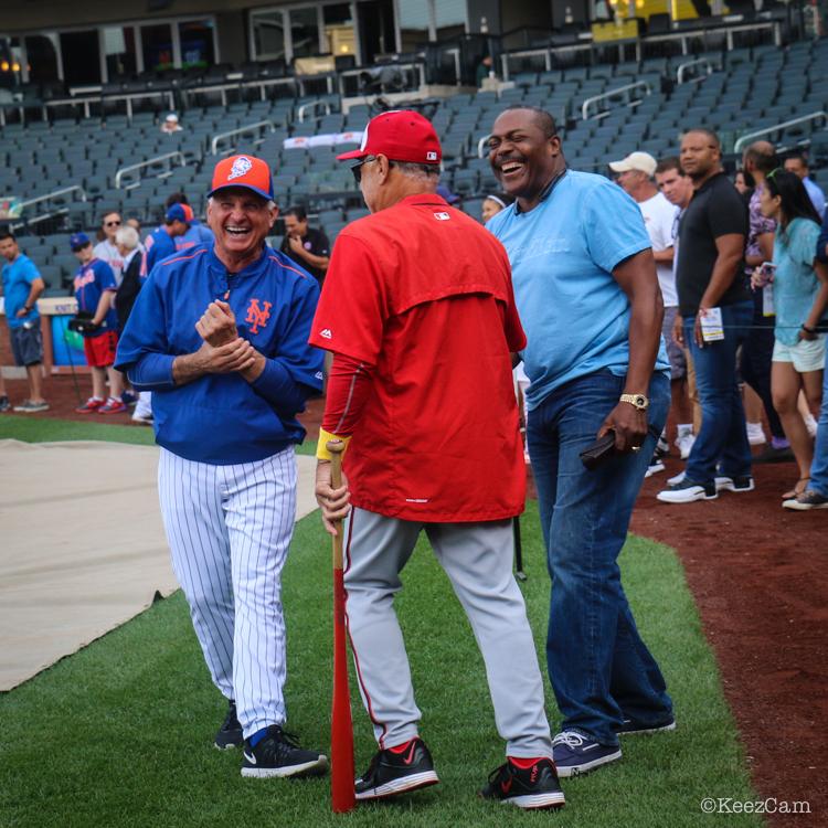 Terry Collins, Davey Lopes & Pedro Guerrero