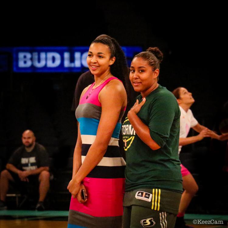 Kia Stokes & Kaleena Mosqueda-Lewis