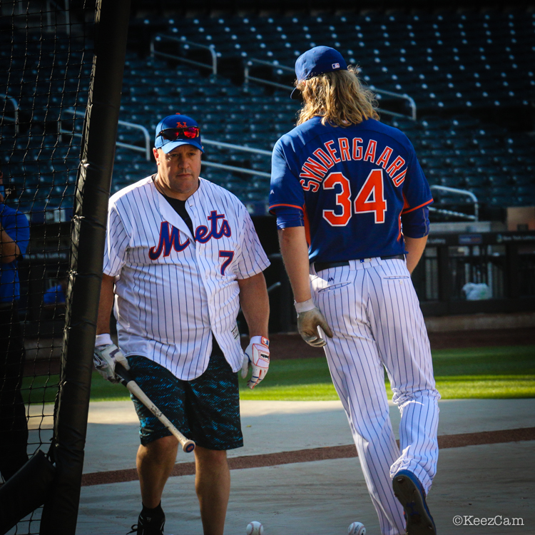 Kevin James & Noah Syndergaard