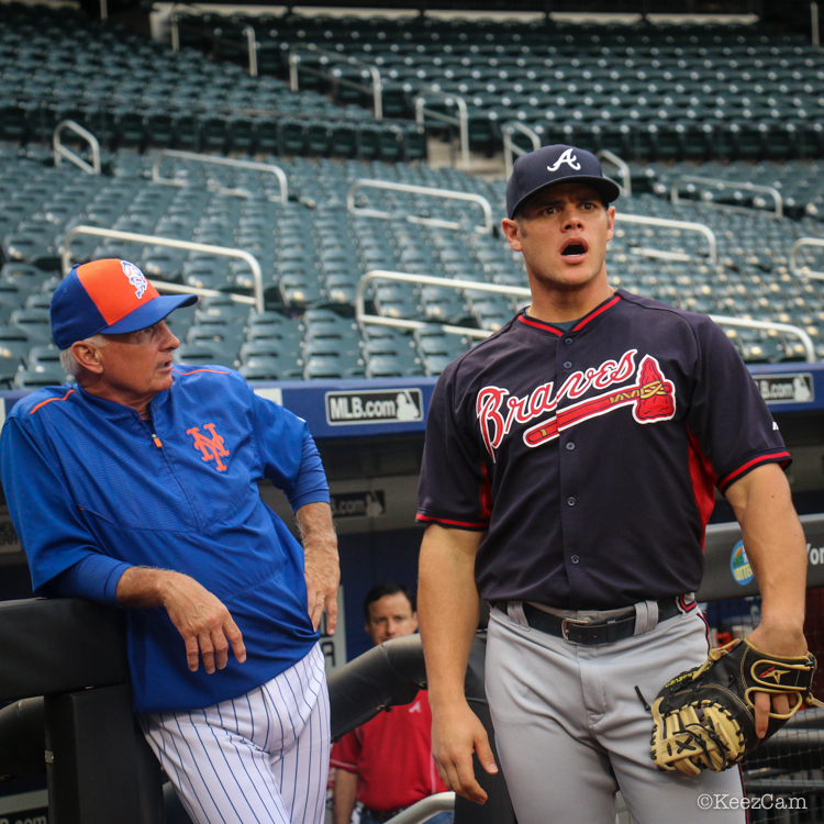 Terry Collins & Anthony Recker
