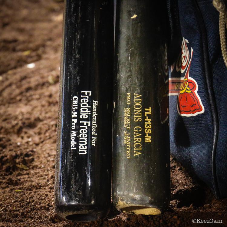 Atlanta Braves game bats