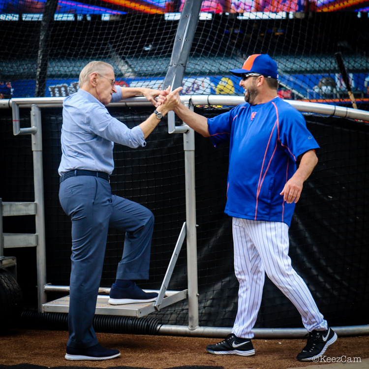 Fred Wilpon & Kevin Long