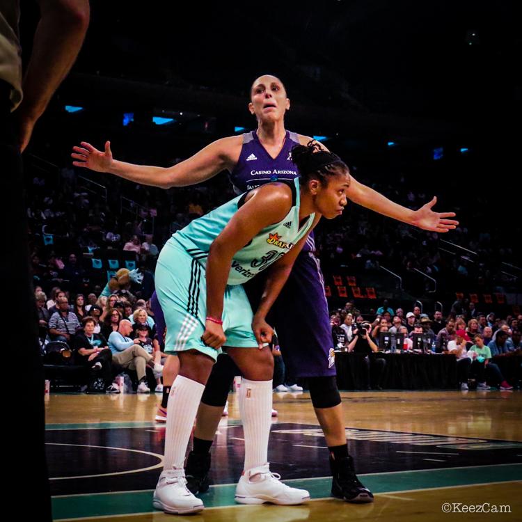 Tanisha Wright & Diana Taurasi