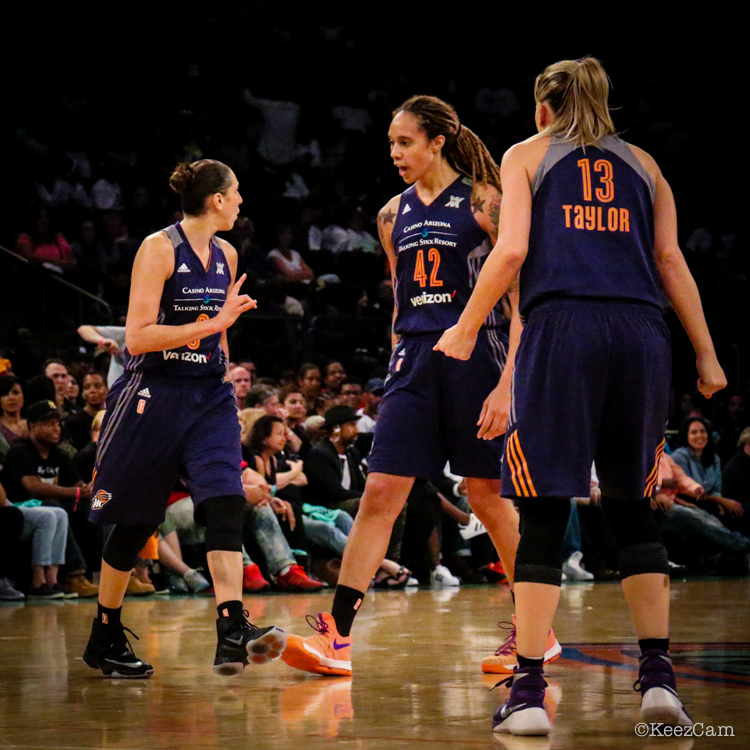 Diana Taurasi, Brittney Griner & Penny Taylor