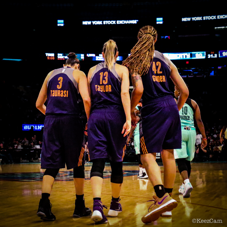 Diana Taurasi, Penny Taylor & Brittney Griner