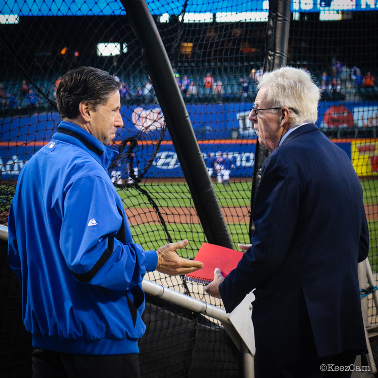 Jeff Wilpon & Peter Gammons
