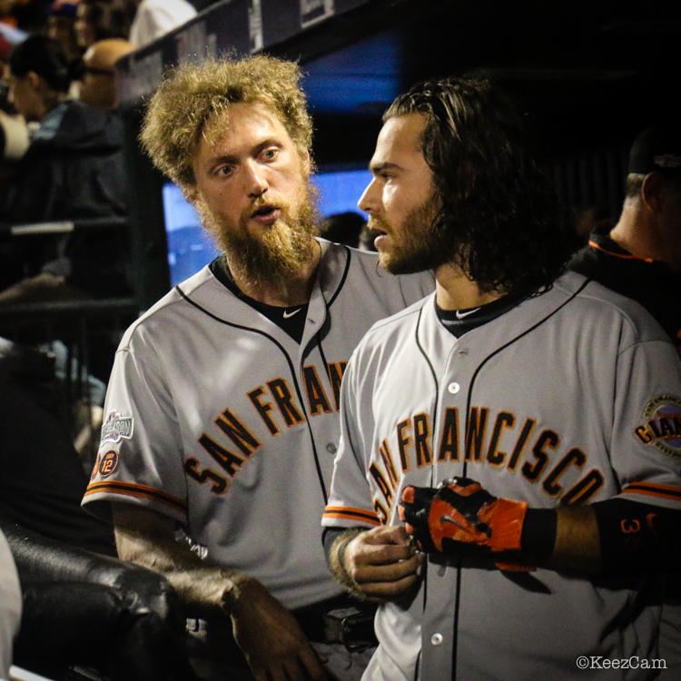 Hunter Pence & Brandon Crawford