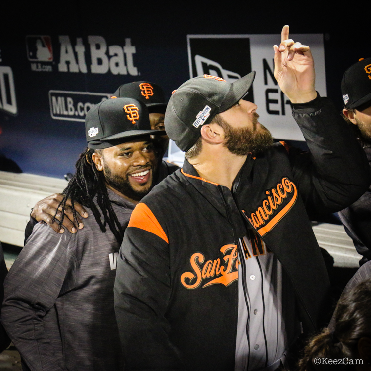 Johnny Cueto & George Kontos