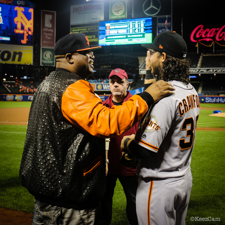 E-40 & Brandon Crawford
