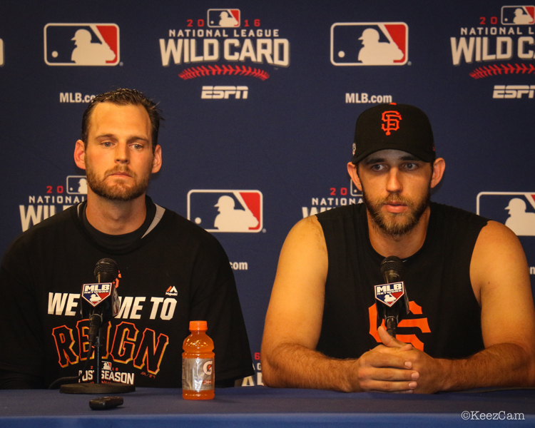 Conor Gillaspie & Madison Bumgarner
