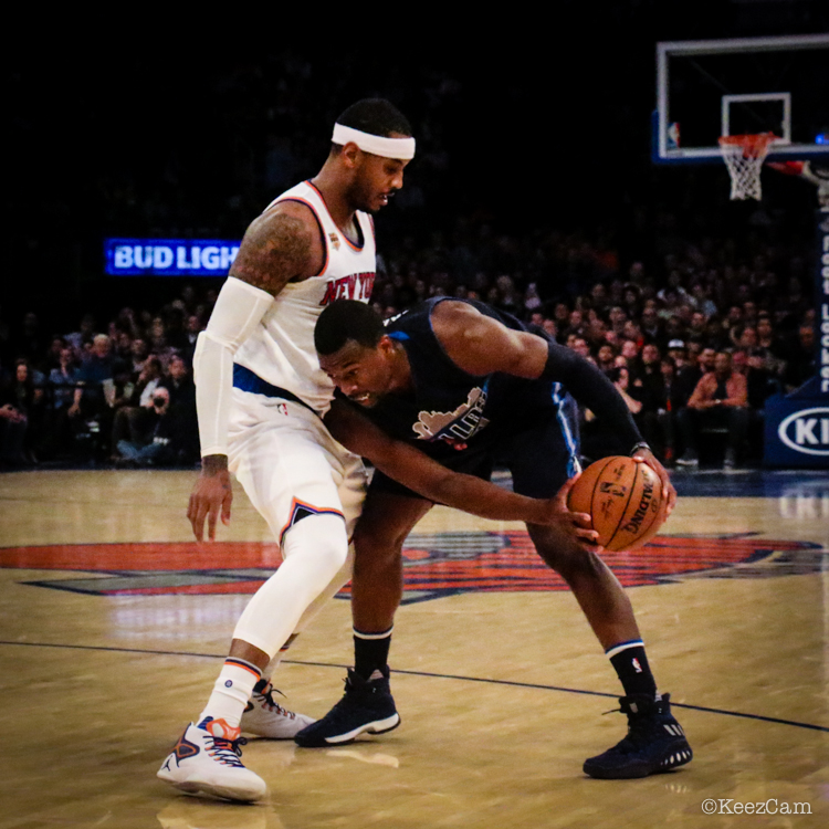 Carmelo Anthony & Harrison Barnes