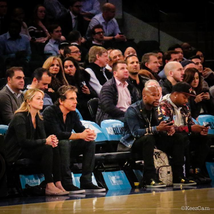 Ben Stiller & Floyd Mayweather