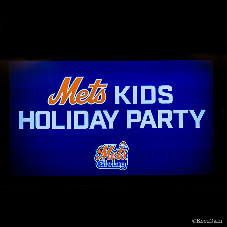 New York Mets Kids Holiday Party