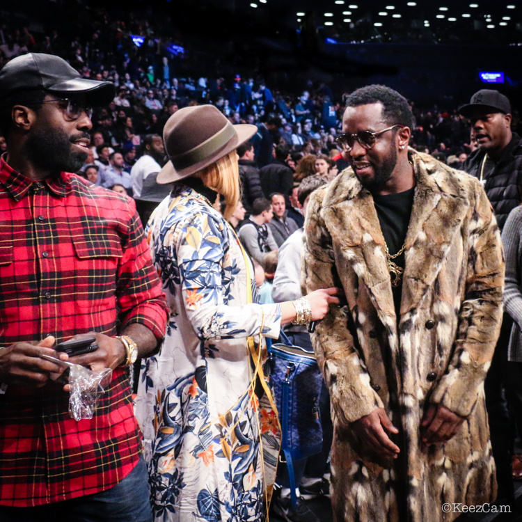 Faith Evans & Diddy
