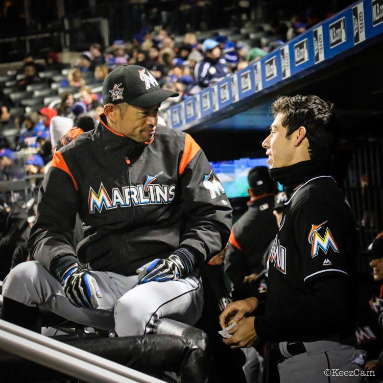 Ichiro & Christian Yelich