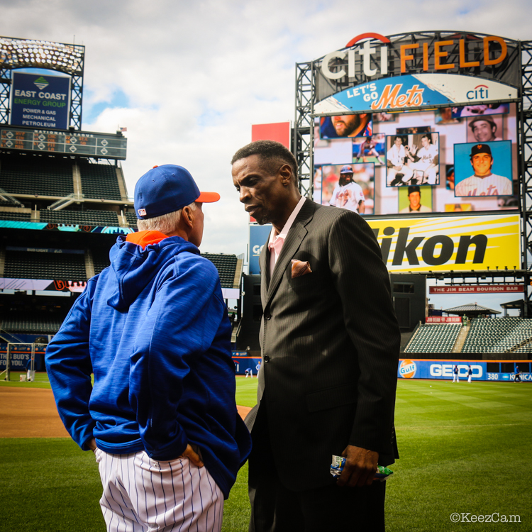 Terry Collins & Dwight Gooden