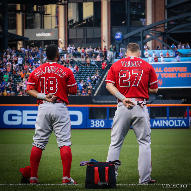 Luis Valbuena & Mike Trout