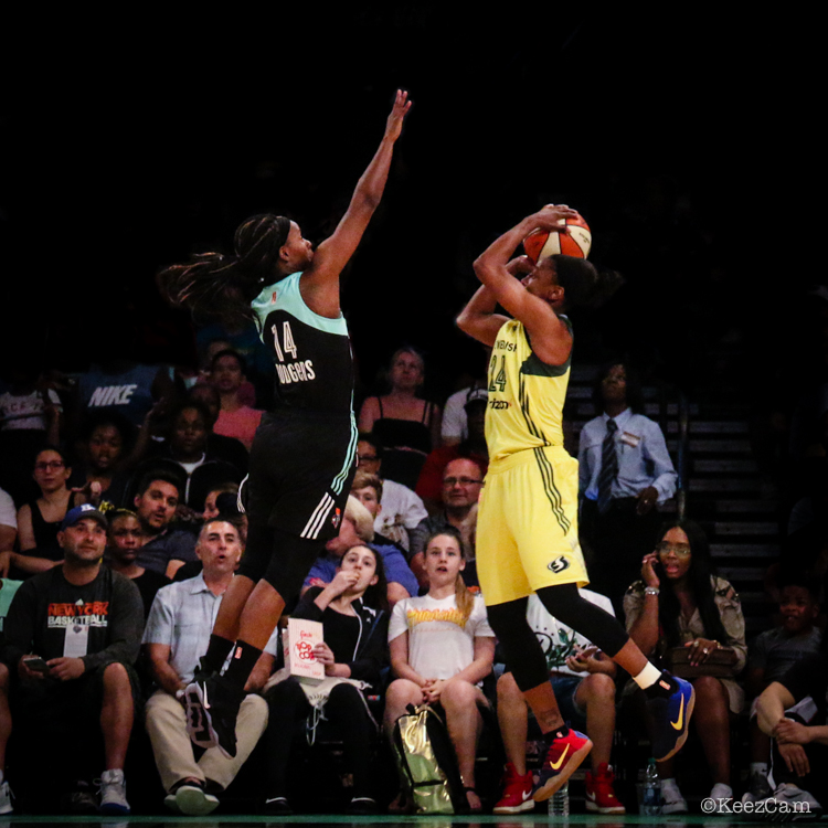 Sugar Rodgers & Jewell Loyd