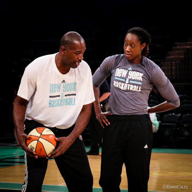 Herb Williams & Tina Charles